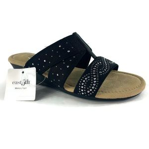 east 5th Womens Ginko Wedge Sandals Size 6.5M